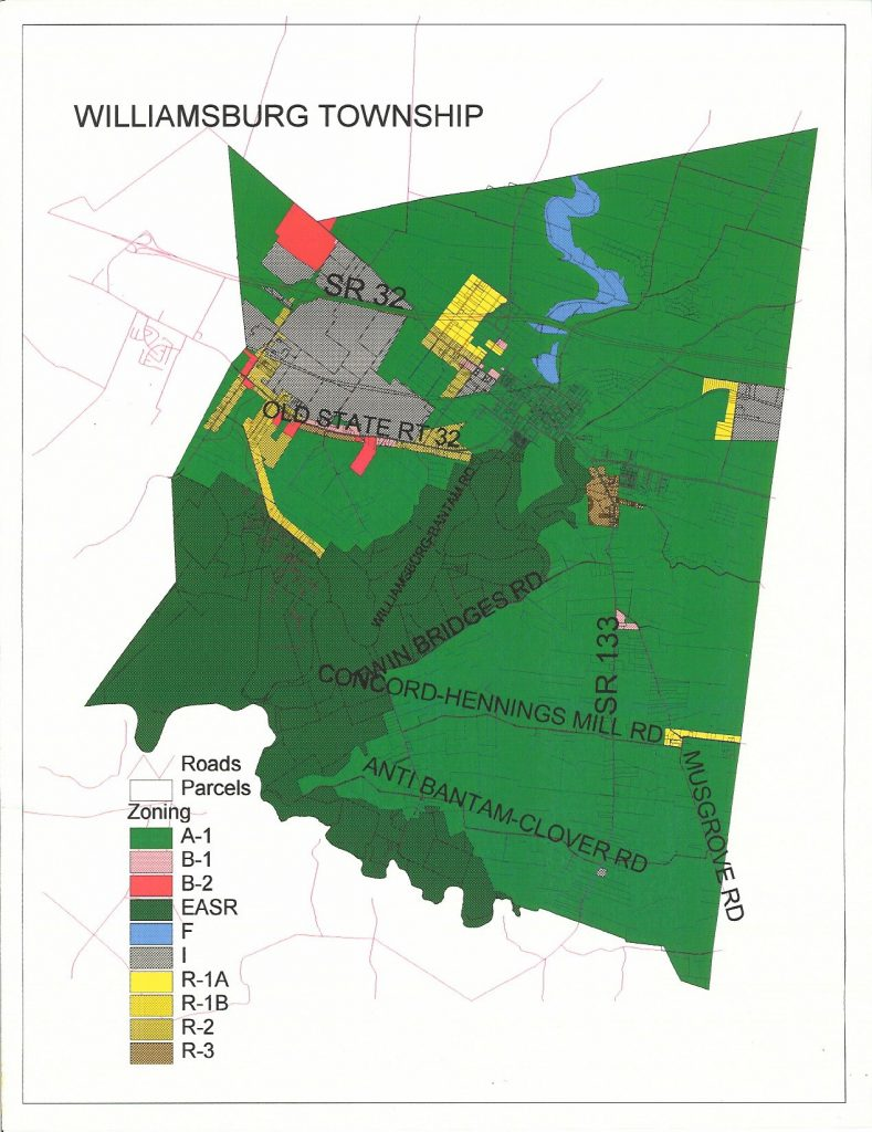 Williamsburg Township Zoning Map